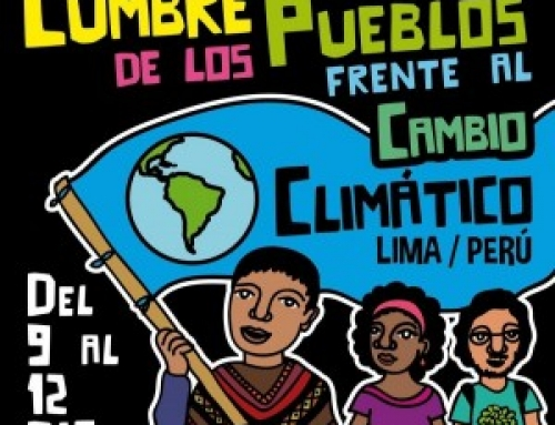 People's Summit 2014 – Lima, Peru: Preparations for a Global Social Movement <br/><span id='subsub' style='font-size: 15px;     color: #62761D;'>Monday, December 1 marked the beginning of the 20th session of the Conference of Parties (COP20) in Lima, Peru. The People's Summit is preparing to respond from December 9-12.</span>